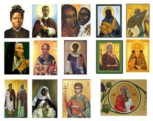 image of Black Catholic saints