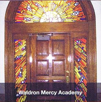 image of Waldron Mercy Academy door
