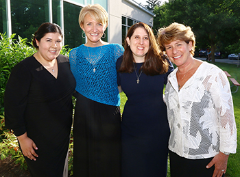 image of final profession sisters: Srs Marjorie Tapia, Danielle Gagnon, Jennifer Barrow, and Marybeth Beretta