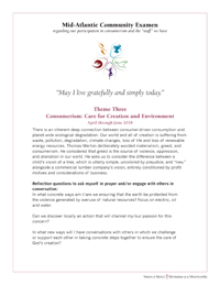 image of Care for Creation and Environment AprMayJun 2018 examen