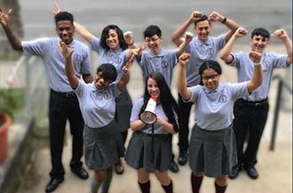 image of Mercy CTE students