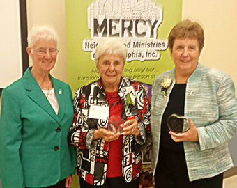 image of Srs. Ann Provost, Mary Anne Basile, and Patricia Smith
