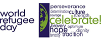 image of World Refugee Day logo