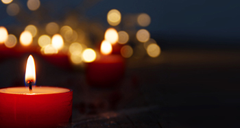 image of candles at Advent