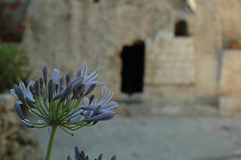 image of tomb garden of Jesus
